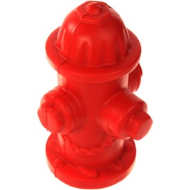 Promotional Fire Hydrant Stress Ball
