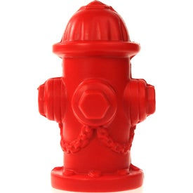 "Fire Hydrant Stress Ball (2.5"" x 3.5"" x 1.25"")"