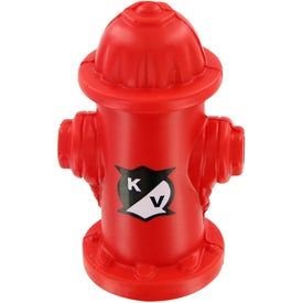 Monogrammed Fire Hydrant Stress Toy
