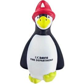 Logo Fire Penguin Stress Toy