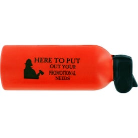 Personalized Fire Extinguisher Stress Ball