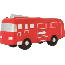 Branded Fire Truck Stress Ball