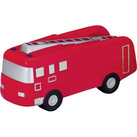 Fire Truck Stress Ball Branded with Your Logo