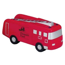 "Fire Truck Stress Ball (3.875"" x 2.875"" x 1.333"")"