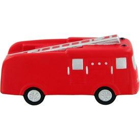 Custom Fire Truck Stress Toy