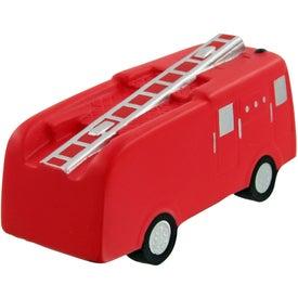 Logo Fire Truck Stress Toy