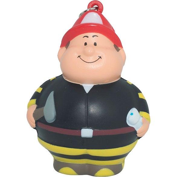 Fireman Bert Stress Reliever Keyring