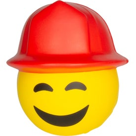Fireman Emoji Hat Stress Relievers