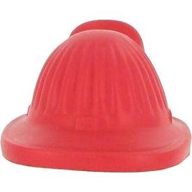 Printed Fire Helmet Stress Ball
