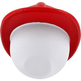 Promotional Fireman Mad Cap Stress Ball