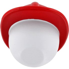 Fireman Mad Cap Stress Ball for Promotion