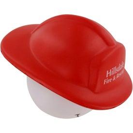 Branded Fireman Mad Cap Stress Ball