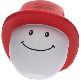 Fireman Mad Cap Stress Ball for Your Church