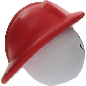 Fireman Mad Cap Stress Ball Printed with Your Logo
