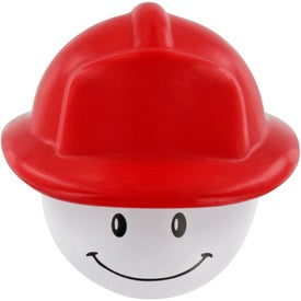 Fireman Mad Cap Stress Ball with Your Logo