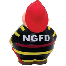 Fireman Bert Stress Reliever Imprinted with Your Logo