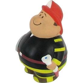 Promotional Fireman Bert Stress Reliever