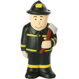 Custom Fireman Stress Ball