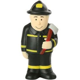 Custom Fireman Stress Ball