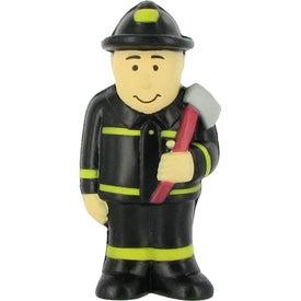 Imprinted Fireman Stress Ball