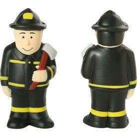 Personalized Fireman Stress Ball
