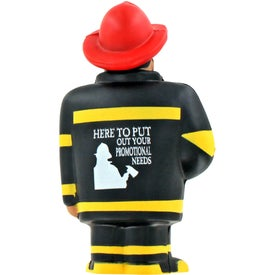 Fireman Stress Ball for Your Company