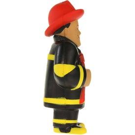 Fireman Stress Ball for Marketing