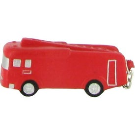 Fire Truck Key Chain Stress Ball for Advertising