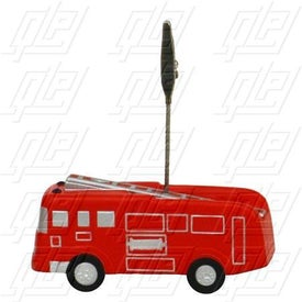 Fire Truck Stress Ball Memo Holder