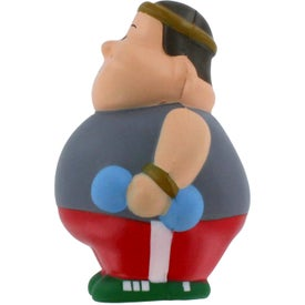 Fitness Man Bert Stress Reliever for Customization