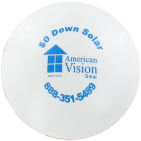 Logo Flag Ball Stress Reliever