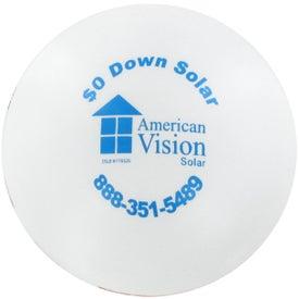 Logo Flag Ball Stress Reliever