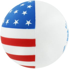 Flag Ball Stress Reliever for Your Organization