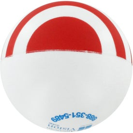 Flag Ball Stress Reliever Printed with Your Logo