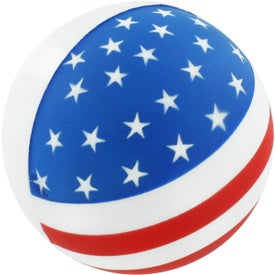 Promotional Flag Ball Stress Reliever