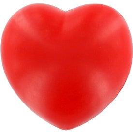 Printed Patriotic Heart Stress Ball