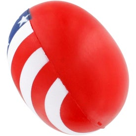 Patriotic Heart Stress Ball Printed with Your Logo