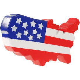US Map Stress Ball for Customization