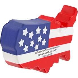 US Map Stress Ball for your School