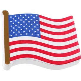 Flag Stress Reliever Imprinted with Your Logo