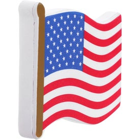 Printed Flag Stress Reliever