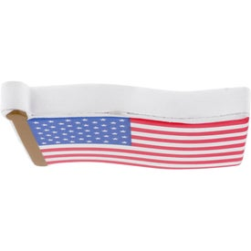Flag Stress Reliever with Your Slogan
