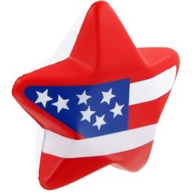 Advertising Patriotic Star Stress Ball