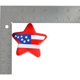Custom Patriotic Star Stress Ball