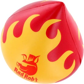 Personalized Flaming Droplet Stress Ball