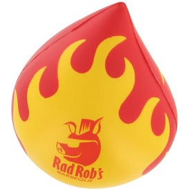Flaming Droplet Stress Ball for your School