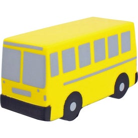 Flat Front School Bus Stress Ball Giveaways