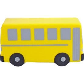 Flat Front School Bus Stress Ball