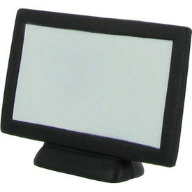 Imprinted Flat Screen TV Stress Reliever