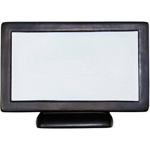 Black / White Flat Screen TV Stress Reliever